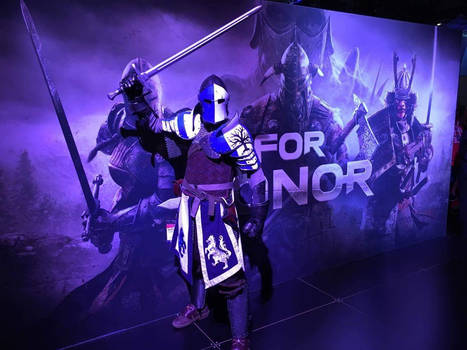 The Warden - For Honor - Salute