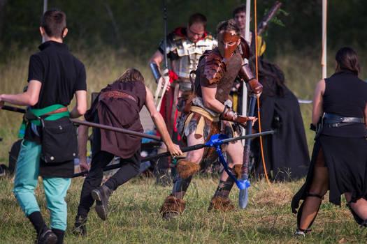 Spear Duel