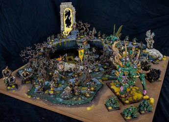 Nurgle Armies on Parade by Taelonar