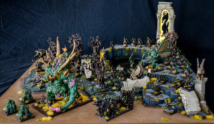 Nurgle Armies on Parade 2 by Taelonar