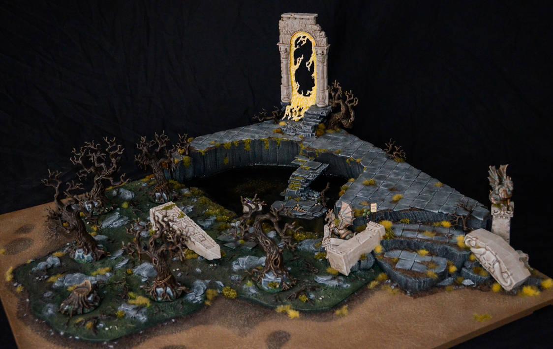 Swampy Ruin Armies on Parade Board