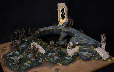 Swampy Ruin Armies on Parade Board by Taelonar