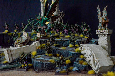 Nurgle's Forces on the March by Taelonar