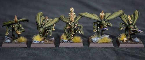 Chaos Furies of Nurgle by Taelonar