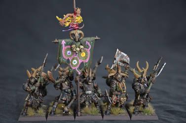 Bestigors of Nurgle by Taelonar