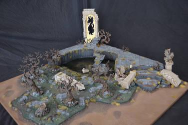 Swampy Ruin Armies on Parade Board 2017 by Taelonar