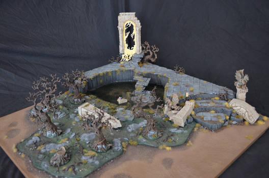 Swampy Ruin Armies on Parade Board 2017