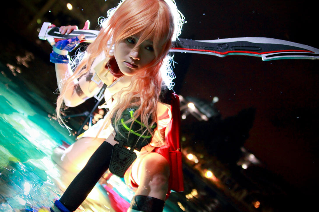 final fantasy 13 - lightning by Bakasteam