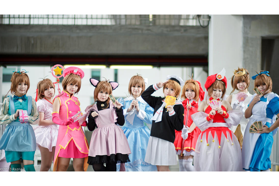 Card Captor Sakura by Bakasteam