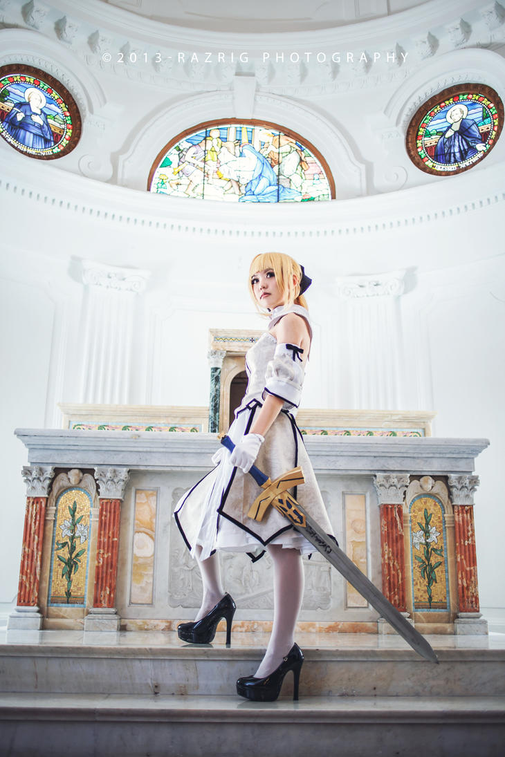 Saber Lily by Bakasteam