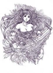 ..:: SONA - League of Legends ::.. by TIKUMAN