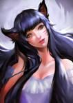 ..:: [COMMISSION] AHRI - BEAUTIFUL GIRL ::.. by TIKUMAN