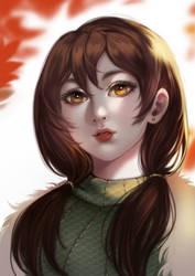[COMMISSION] SASARA - sweet girl by TIKUMAN