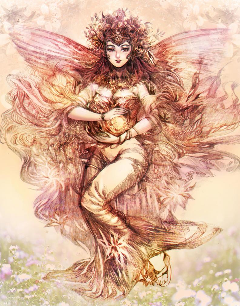 [COMMISSION] Angel's Lighting by TIKUMAN