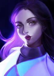 [COMMISSION] MYSTERY WOMAN by TIKUMAN