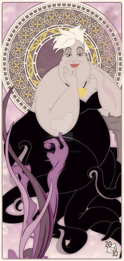 Mucha Ursula by smallvillereject