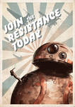 Join the Resistance Today -BB8-