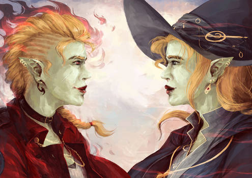 Taako and Lup - soulmates