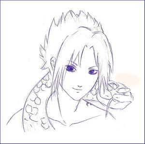 Sasuke snake by Sasuke-FC
