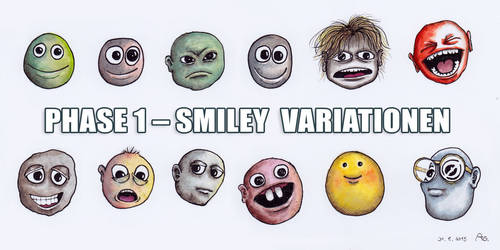 Smileys Variationen