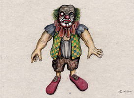 Halloween Clown 2016 by StampferAlex