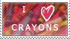 i love crayons by dragon-gema