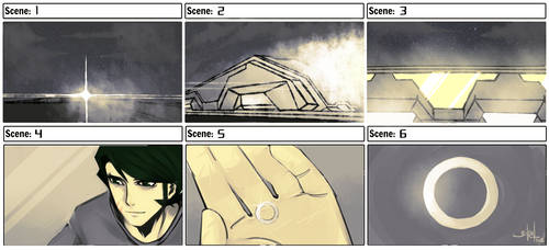 Storyboard : Riech by 3ikal