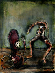 monkey and friend by nico37