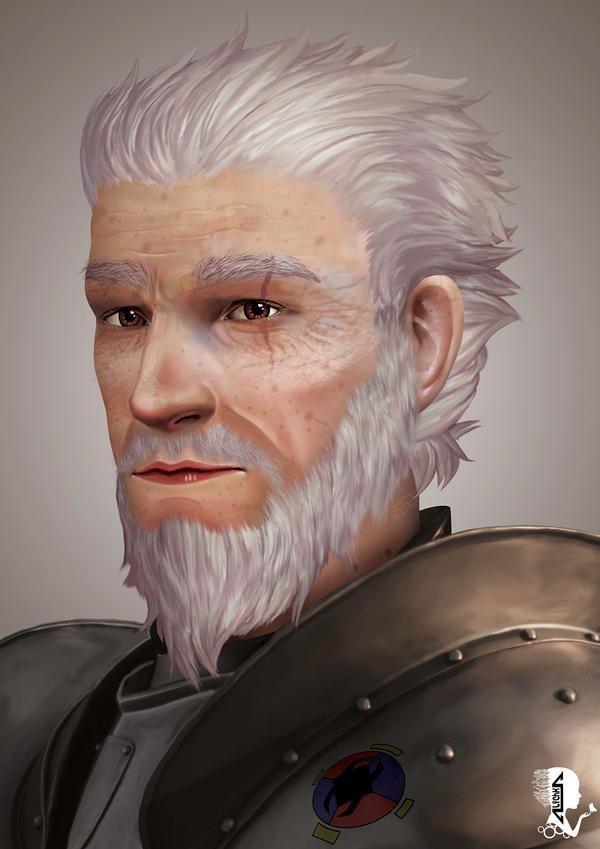 Gerald the Paladin by A-lichka