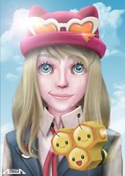 Pokemon XY Serena by A-lichka