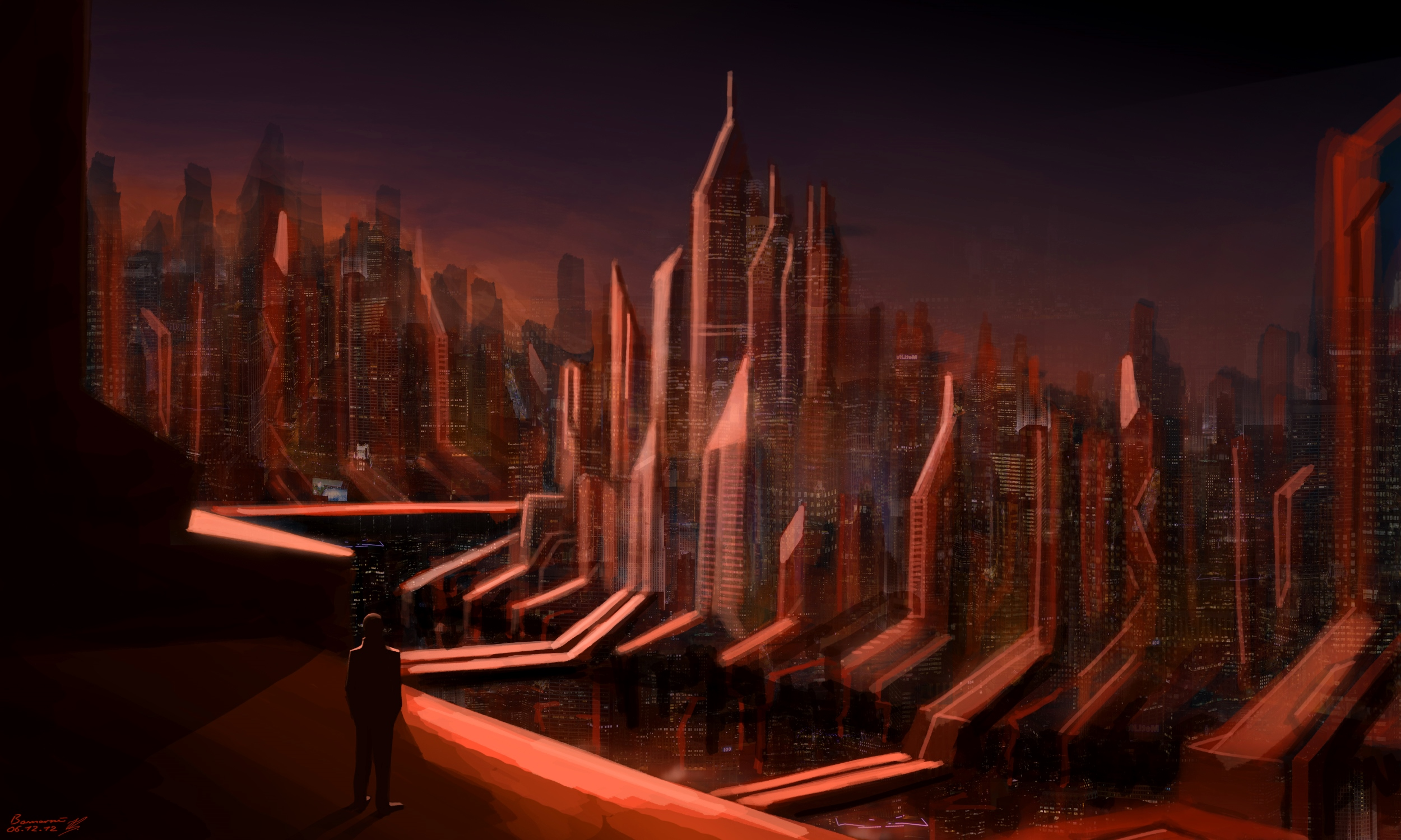 Red City 2 by LoccoRico