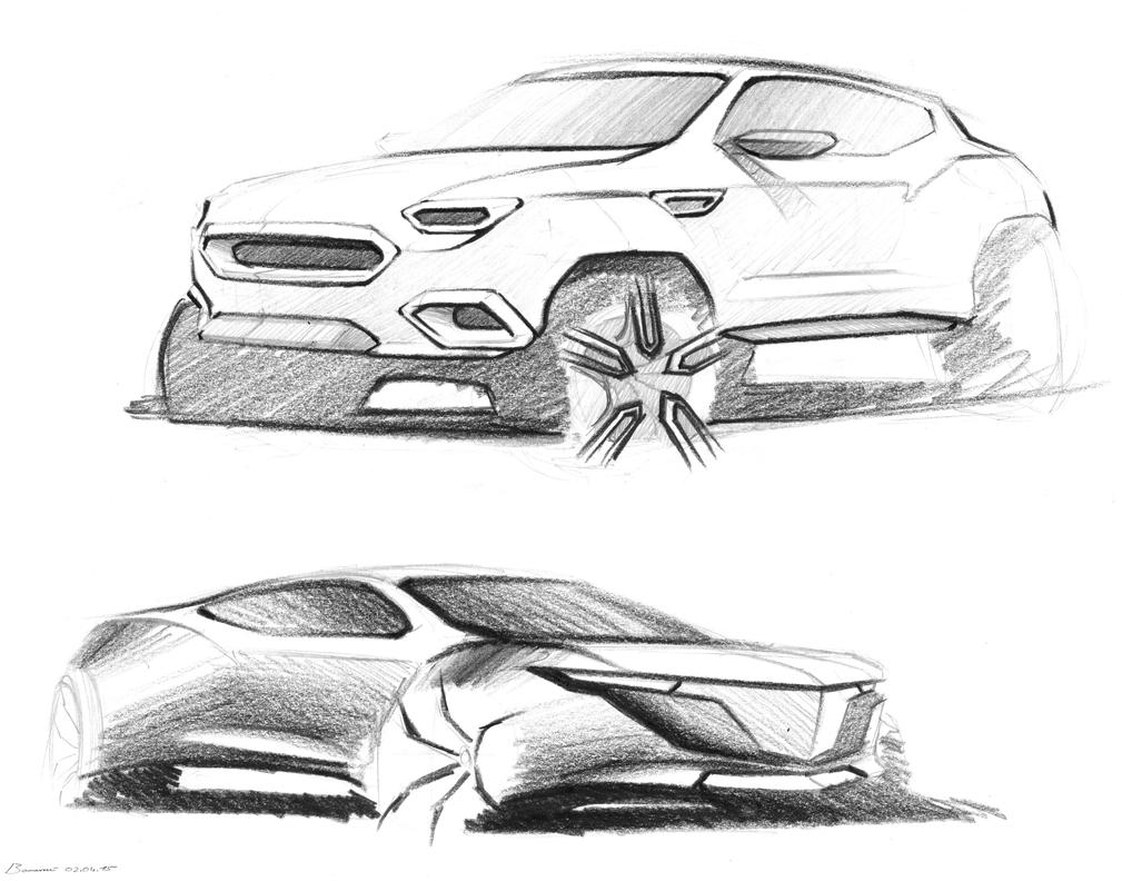 two more car sketches by LoccoRico on DeviantArt