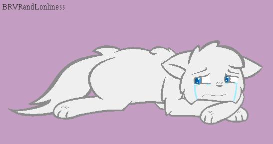 Crying Kitty Base By Brvrandlonliness On Deviantart