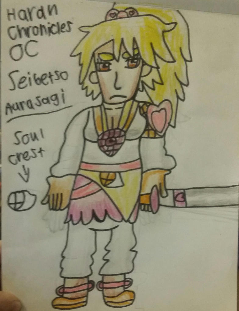 Haran Chronicles OC Seibetsu Aurusagi by Randi-lovesVetrix