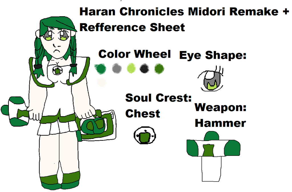 Haran Chronicles Midori Remake by Randi-lovesVetrix