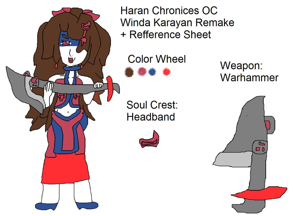 Haran Chronicles Winda Karayan Remake by Randi-lovesVetrix