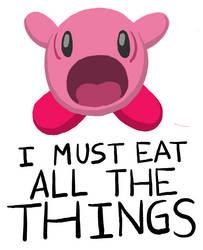Kirby Sucks (It's a Joke! Get it?) by Starflier