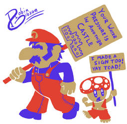 Mario is the 99%