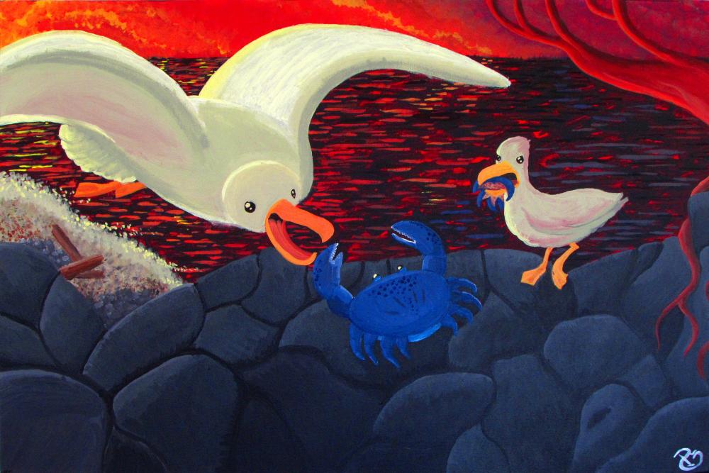 Seagulls by Starflier
