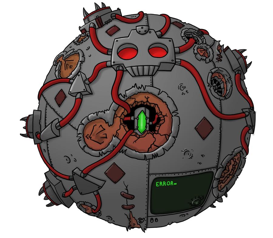 Mine All Mine - Cyborg Planet by Starflier