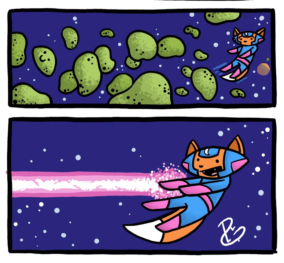 Laser Fists by Starflier