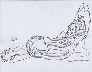 Mikko Cuddles by Fel-4321