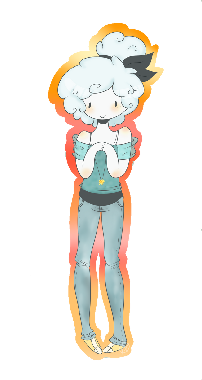 .:Clarissa the cloud person:. by Ask-Alicia-Caramel