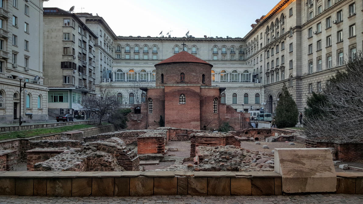Rotunda Sveti Georgi Pobedonosets by AuxRane