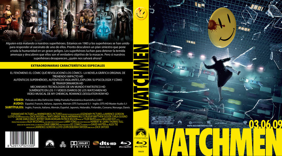 Watchmen Bluray custom...