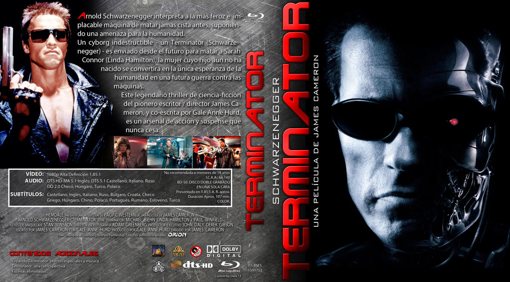 TERMINATOR COMPLETE 1 - 5 MOVIE COLLECTION DVD ALL 1 2 3 4 5 ...