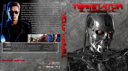 Terminator 2 Bluray Custom Cover