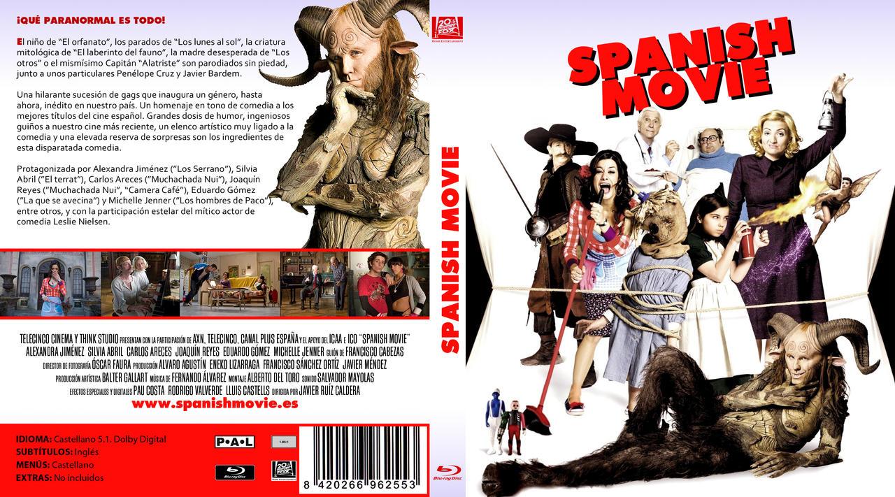 SPANISH MOVIE CUSTOM BLURAY COVER by elmundodedata on DeviantArt