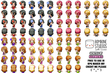 RPG Maker - Sprites on rpg-maker-artists - DeviantArt