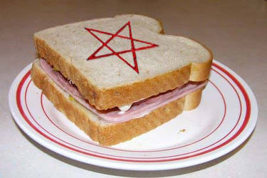 Satanic Sandwich by Din-of-valhalla